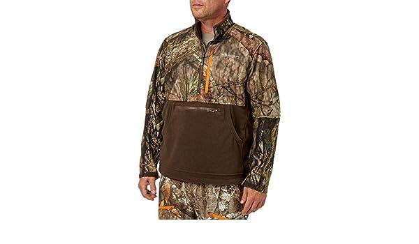b0df300a8aa4f Amazon.com: Field & Stream Men's Every Hunt 1/2 Zip Softshell Hybrid Jacket:  Sports & Outdoors