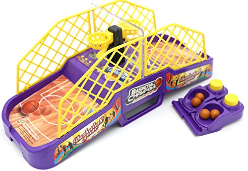 Little Treasures Basketball Shot Arcade Game Set with Launch