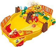 Super Mario Fireball Stadium from Epoch, Multiplayer Tabletop Action Game for Ages 5+ Multicolor