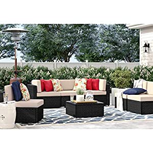 519w3KYu0xL._SS300_ 100+ Black Wicker Patio Furniture Sets For 2020