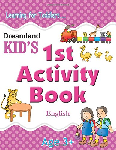 1st Activity Book - English (Kid's Activity Books)