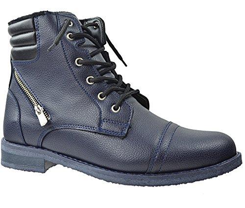 Combat Stivali scuro Blu Uomo navy CAPRIUM pRTx5qFq