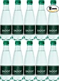 Badoit Natural Spring Sparkling Water, 16.9oz Plastic Bottle (Pack of 10, Total of 169 Oz)
