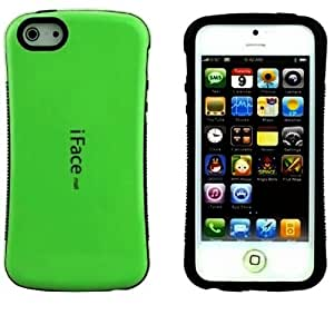 Huaxia Datacom Best 5G Shockproof Anti-scratch Cooling Polish silicone Gel Case for iPhone 5 5S Green