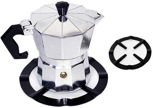 XATAKJJ Cocina de Gas de la Barra de café Titular de té de Acero Durable Reductor de café vitrocerámica: Amazon.es: Hogar