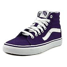 Vans Sk8 Hi Mens Blue Canvas High Top Lace Up Sneakers Shoes