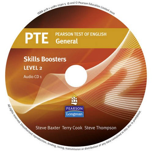 Download Pearson Test of English General Skills Booster 2 CD for