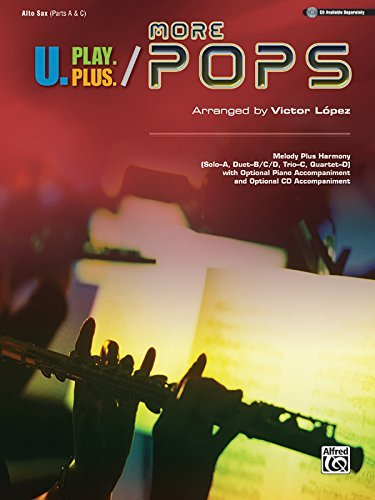 U.Play.Plus More Pops -- Melody Plus Harmony (Solo--A, for sale  Delivered anywhere in Canada