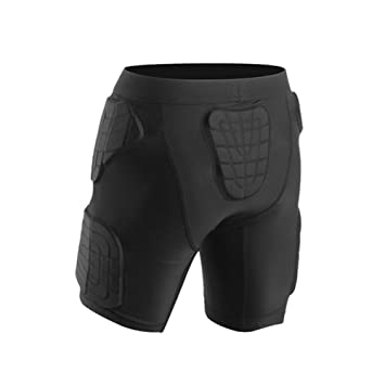 Deportes Camiseta Protectora Acolchada y Pantalones Cortos Hombro ...