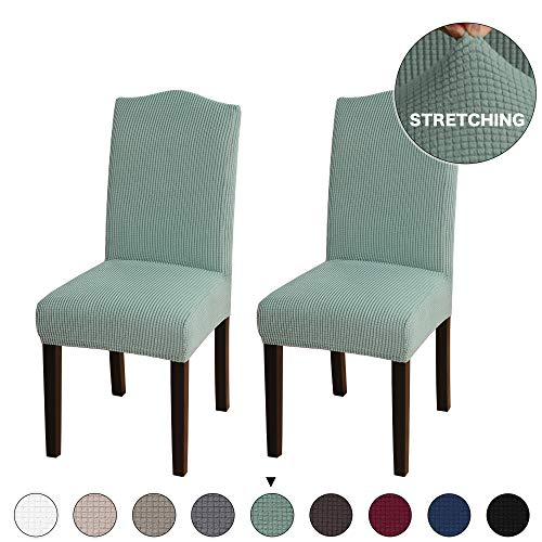 Stretch Dining Chair Velvet Fabric Slipcovers Washable for sale  Delivered anywhere in Canada