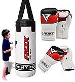 RDX Filled Punching Bag Set