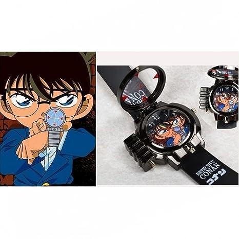 Detective Conan Children Animation Laser Watch (disfraz): Amazon ...