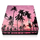 Controller Gear PS4 Slim Console Skin - Palm Trees Pink Horizontal - PlayStation 4
