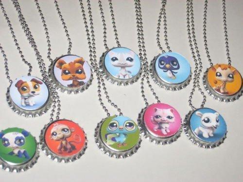 The littliest pet shop LPS party necklace favors lot of (Lps Party Supplies)