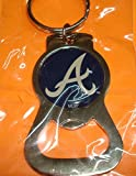 MLB Atlanta Braves Bottle Opener Key Ring
