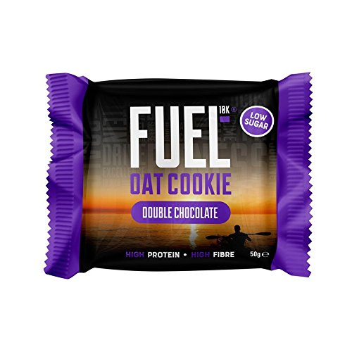 Galleta de avena con doble de chocolate FUEL10K, 12 x 50 g: Amazon.es: Alimentación y bebidas