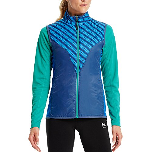 - Mission Women's VaporActive Shift Reversible Vest, Rush Lapis Blue/Estate Blue/Viridian Green, Large
