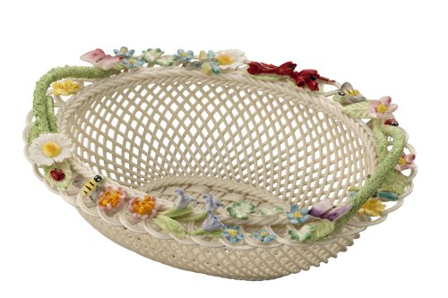Belleek 3600 Baskets Gift Basket, Queens Royal