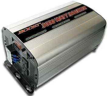 6000 Watt Peak 12V DC to 120V AC for Car Solar Power Supply w//Heavy Duty Cables 5yr Warranty Boat RV 3000W High Efficiency Power Inverter