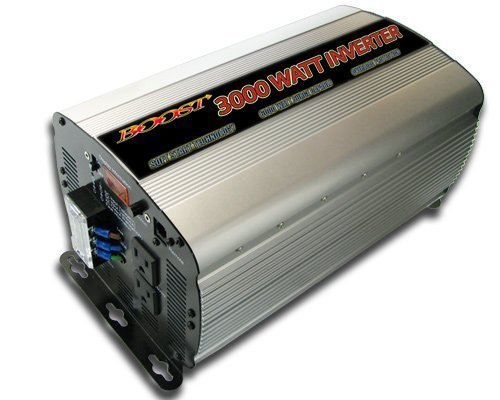 (Boost 3000 W Watt 12v Dc to 120v Ac Car Truck Automotive Power Inverter (3000 watt))