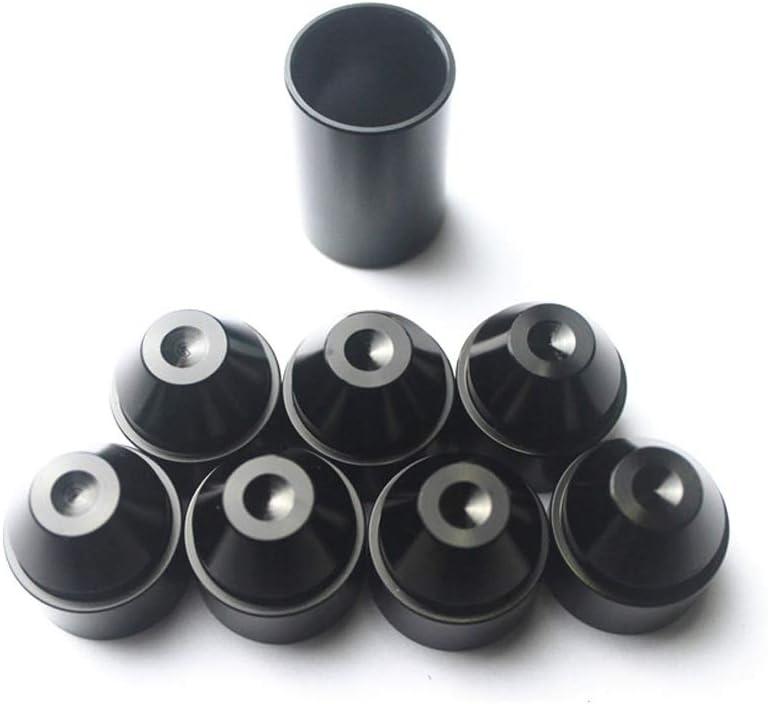 TONGDAUR Kfz-Kraftstofffilter 1//2-28 5//8-24 for Napa 4003 WIX 24003 Zubeh/ör for Kraftstofftankfilter aus Aluminiumlegierung Color : Schwarz, Size : 1//2