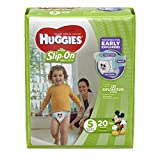 Health & Personal Care : Huggies Little Movers Slip-On Diapers, Size 5, 20 Count