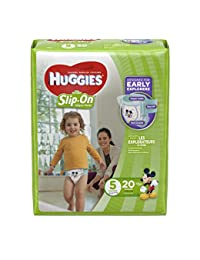 Huggies Little Movers Slip On, Size 5, 20 ct BOBEBE Online Baby Store From New York to Miami and Los Angeles