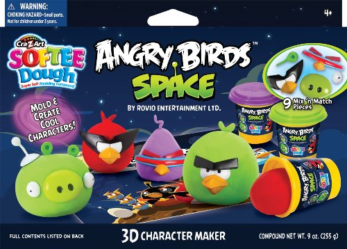 Angry birds space dough set amazon toys games voltagebd Images