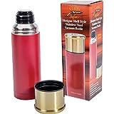 Classic Safari Shotgun Shell Style 33.8oz (1l) Stainless Steel Vacuum Bottle