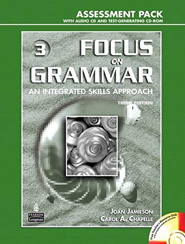 Focus on Grammar 3, Assessment Pack