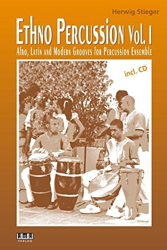 Ethno-Percussion Vol. 1: Afro, Latin and Modern Grooves for Percussion Ensemble (Anglais) Broché – 1 juillet 2015 Herwig Stieger AMA Verlag GmbH 3899222032 Musikalien