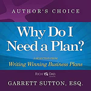 Why Do I Need a Plan? Audiobook