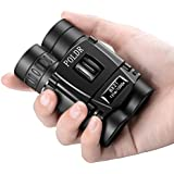 POLDR 8x21 Small Compact Lightweight Binoculars for Adults Kids Bird Watching Traveling Sightseeing.Mini Pocket Folding Binoculars for Concert Theater Opera