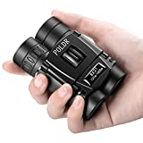 POLDR 8×21 Small Compact Lightweight Binoculars for Adults Kids Bird Watching Traveling Sightseeing.Mini Pocket Folding Binoculars for Concert Theater Opera