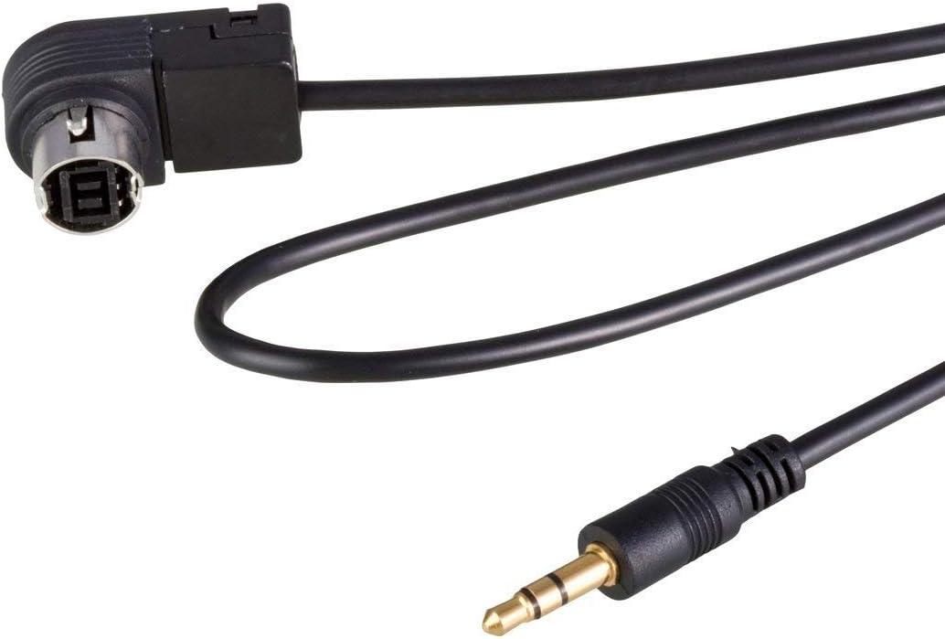 Eidoct Aux Kabel Für Autoradios 3 5 Mm Klinkenstecker Kompatibel Mit Jvc Alpine Cd Ks U58 Pd100 U57 U29 Für Mp3 Auto