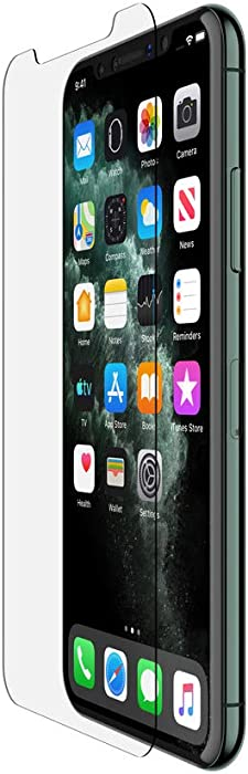 Belkin ScreenForce InvisiGlass Ultra Screen Protector for iPhone 11 Pro (iPhone 11 Pro Screen Protector, iPhone 11 Screen Protector) (F8W940zz?)