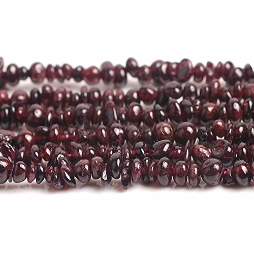 Chips Beads for DIY Necklace Bracelet Earrings Jewelry Making One Full Strand Red Garnet Gemstone Irregular Chips Beads Lots Supply