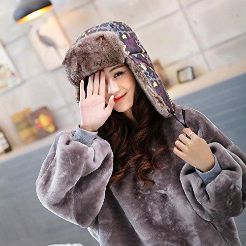 Generic winter hat men's_camouflage_Lei_Feng_ cap hat girls