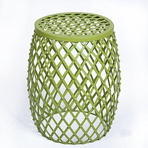 Homebeez Home Garden Accents Wire Round Iron Metal Stripe...