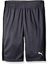 Little Boy's Boys' Form Stripe Short Shorts, Coal, 7