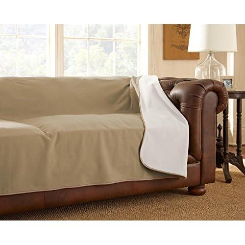 "100% Waterproof Mambe Furniture Cover (Sofa 70""x 120"", Buff-Camel)"