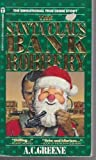 Front cover for the book The Santa Claus Bank Robbery by A. C. Greene