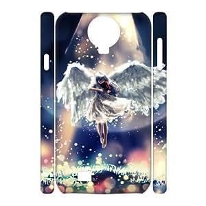 ALICASE Diy Case Fantasy Angel Cover For Samsung Galaxy S4 i9500 [Pattern-1]
