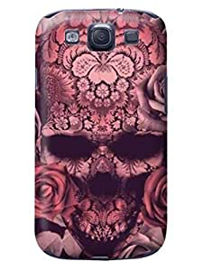 LarryToliver Super Star samsung Galaxy s3 Case Cover for Customizable fashion skull pictures #3 WANGJING JINDA