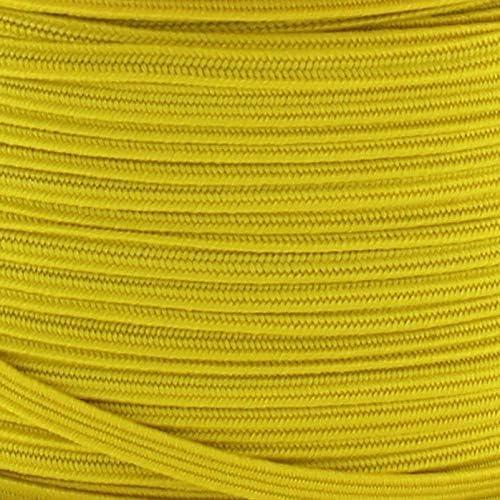 Braided Cord Apple Green 25 Yards 1//8 Width Skinny Elastic Band