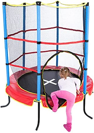 Ultrasport Cama elástica de interior Jumper 140 cm para niños ...