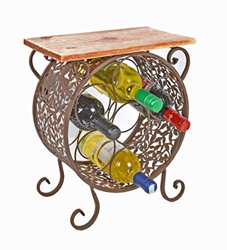 Cmoda-estantera-estante-de-vino-botellero-de-madera-y-hierro-estilo-vintage-redondo-rustico-shabby-industria-para-bao-pasillo-cocina-sala