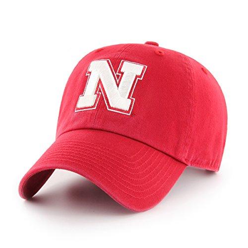 OTS NCAA Nebraska Cornhuskers Challenger Adjustable Hat, Red
