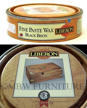Black Bison Wax - Liberon Fine Paste Wax Black Bison Neutral 150ml