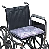 Physical Therapy AIDS 081133636 Starry Night Gel-Foam Wheelchair Cushion 18'' x 16, Shape